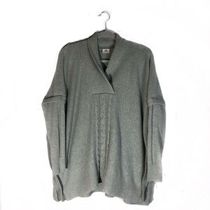 Cabi Charlotte Poncho Style Sweater OVERSIZED MED